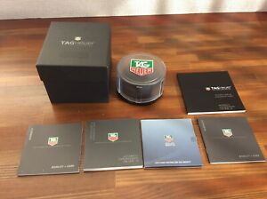 Tag Heuer Vintage Automatic Chronograph Watch Box with Booklets+ FREE SHIPPING