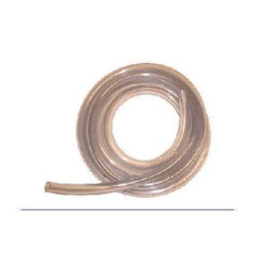 Clear Vinyl Tube 10 feet  1/2in (OD) x 3/8in (ID)