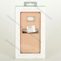 Michael Kors Hard Snap Case w/Card Pocket for Samsung Galaxy S8+ Plus Rose Gold