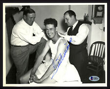 Ted Williams Autographed Signed 8x10 Photo Boston Red Sox (Smear) Beckett A28337