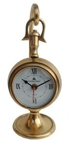 Antique Style Brass Hanging Watch for mantel