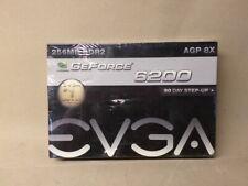 EVGA GE-Force 6200 AGP 8X 256 MB DDR2 GRAPHICS CARD 256-A8-N401-LR