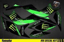 Kit Déco Quad / Atv Decal Kit Yamaha Raptor - Monster