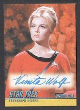 STAR TREK TOS 40th ANNIVERSARY SERIES 2 Autograph Card #A176 VENITA WOLF