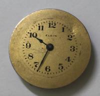 Vintage 1920 Elgin Cal 447 Watch Movement Parts/Repair USA 10/0s Gold Dial