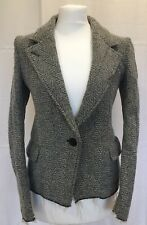 ISABEL MARANT ÉTOILE Wool Blend,dogtooth, Black & Cream Jacket size 38 (UK 8-10)