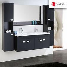Muebles para baño 120 cm para cuarto de baño con espejo baño grifos Elegance