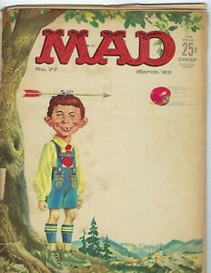 MAD MAGAZINE #77 Very Ragged Copy