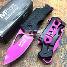 "MTECH USA 3"" Closed Beer Opener Small Pink Camping Pocket Knife MT-A882PK"