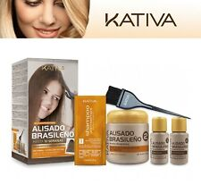 Kativa Brazilian Keratin Treatment Hair Straightening KIT Shampoo Greater Size