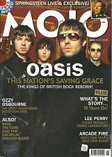 MOJO~JUNE 2005 #139/OASIS/OZZY/COLDPLAY/BECK/BRUCE/CURE/IGGY/ARCADE FIRE/FREE CD