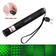 Green Laser Pointer Pen 1mw Powerful Adjustable Focus 532nm Lazer pointers 303
