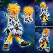 Anime Digimon Adventure Yamato Ishida & Gabumon 1/10 Figur Figure No Box