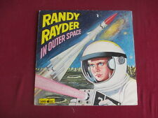 Randy Rayder In Outer Space - rare Lp incl comic insert