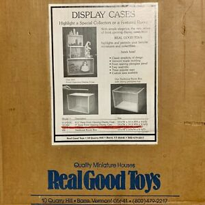 Front Opening Display Case Kit By Real Good Toys