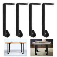 "4pcs Heavy Duty Metal Coffee Table Legs 4"" Chair Iron Desk Bench Furniture Leg"