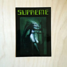 Supreme sticker vinyl decal skateboard NYC bumper H.R. Giger suck alien BJ SK8