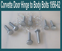 Corvette 1957 1958 1959 1960 1961 1956 1962 Door Hinge Bolts To Body Original 8