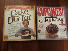 ANNE BYRN, CAKE DOCTOR AND CUPCAKES!, 2 BOOK LOT, FREE SHIPPING.......