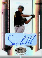 2004 Leaf Certified Materials Mirror Autograph White #107 Jose Castillo/100