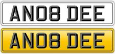 ANDY NUMBER PLATE PRIVATE STYLE:ANDYS ANDI ANDREW ANYDAY AND ANDS -REG AN08 DEE