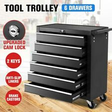 Tool Box Trolley Chest Cabinet 6 Drawers Cart Garage Toolbox Set Storage