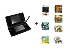 Nintendo DS Lite + Limited Edition Lego Indiana Jones Case & Game + 5 Games