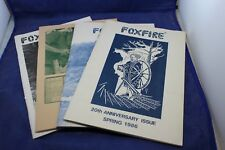 Foxfire Magazine Full Year (4) 1986 Fontana NC Hale Ridge Chair making Rabun Gap