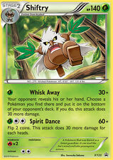 XY23 Shiftry Holo Rare Black Star Promo Pokemon Card. NM/MT. In top loader