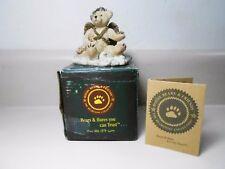 Boyds Bears & Friends Juliette Angel Bear (Ivory) 2029 Bearstone 1993 Coa