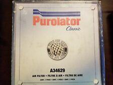 Purolator Classic Air Filter A34629