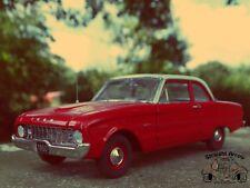 Franklin Mint 1960 Ford Falcon Red 1:24 Scale Diecast Model Replica Car