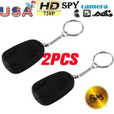 2PCS HD 808 Camcorder Car Key Chain Video SPY Camera DVR Cam Video Recorder pen