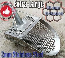 Beach Sand Scoop PELICAN -10 Metal Detector Hunting Tool Stainless Steel by COOB