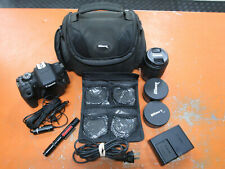 Canon EOS 750D 35mm DSLR Digital Camera w/ 18-55mm Lens And More IN CASE