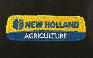 New Holland Tractor Embroidered T-Shirt - 48 colours- Small to 3XL