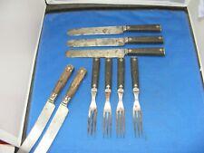 lot of vintage forks /knives cival war era