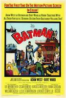 Batman Movie POSTER 11 x 17 Burt Ward, Adam West, Burgess Meredith, A