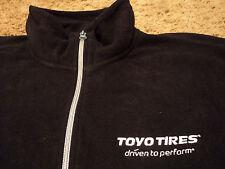 Toyo Tires Front Zip Fleece Jacket Jacket Windbreaker for over shirt Size Small