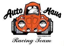 Empi T-Shirt VW Bug, Auto-Haus Racing Team 100% Cotton  Medium 15-4035