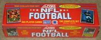 1990 SCORE FOOTBALL COMPLETE FACTORY SEALED SET (Series 1 and 2) - 665 Cards