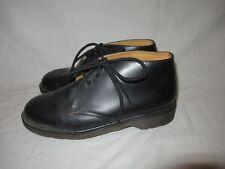 Dr Doc Martens Black 3 Eye Oxford Shoes NaNa England UK Men's UK 8 US 9 Rare!