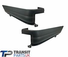 FORD TRANSIT REAR BUMPER UPPER END CAPS LEFT RIGHT MK6 MK7 2000-2014 PAIR
