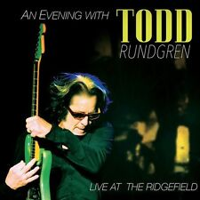 TODD RUNDGREN CD - AN EVENING WITH: LIVE AT THE RIDGEFIELD [CD/DVD](2016) - NEW