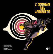 Roberto Nicolosi – ojo en el laberinto Ost Lp Vinilo reedición de cuatro Moscas