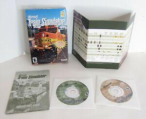 Microsoft Train Simulator 1.0 for PC - Excellent 2002