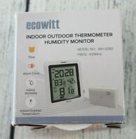 ECOWITT WH0280 Indoor Outdoor Thermometer Digital Hygrometer Temperature