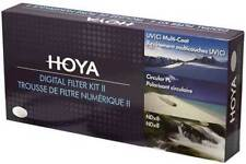 Hoya Digital Filter Kit II 67mm Polfilter + ND-Filter + UV-Filter + Filtertasche