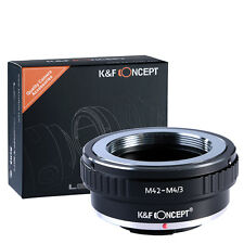K&F Concept adapter for M42 mount lens to Micro 4/3 M4/3 Mount Adapter  G3 GH2