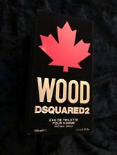 ⭐️⭐️⭐️ DSquared2 Wood For Him Eau de Toilette 100ml Spray £85 ⭐️⭐️⭐️